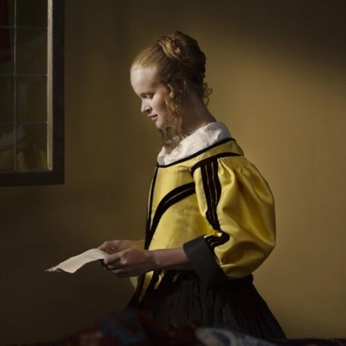 Vermeer - Girl Reading Letter