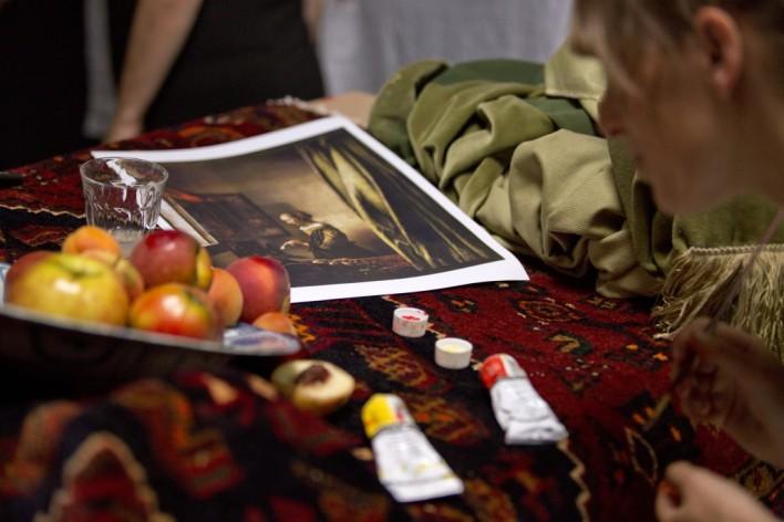 Vermeer - Set Close-up